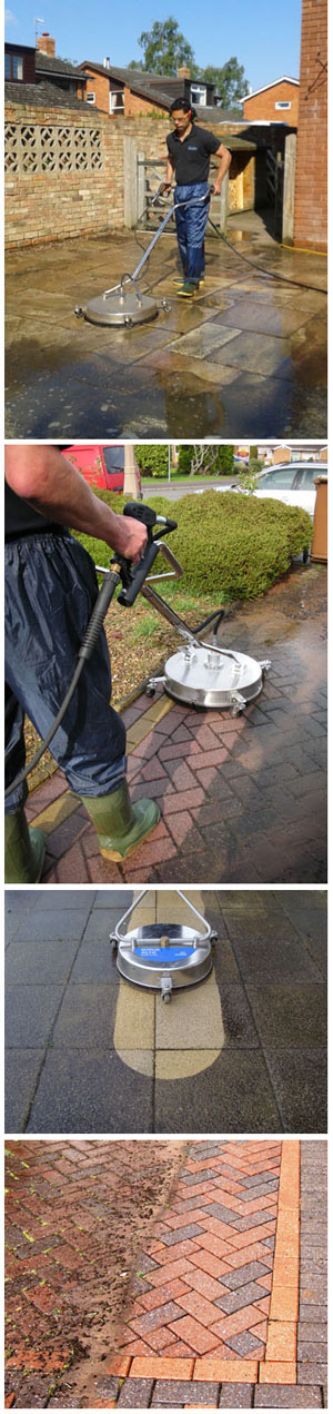 Driveway and patio cleaning St Albans
