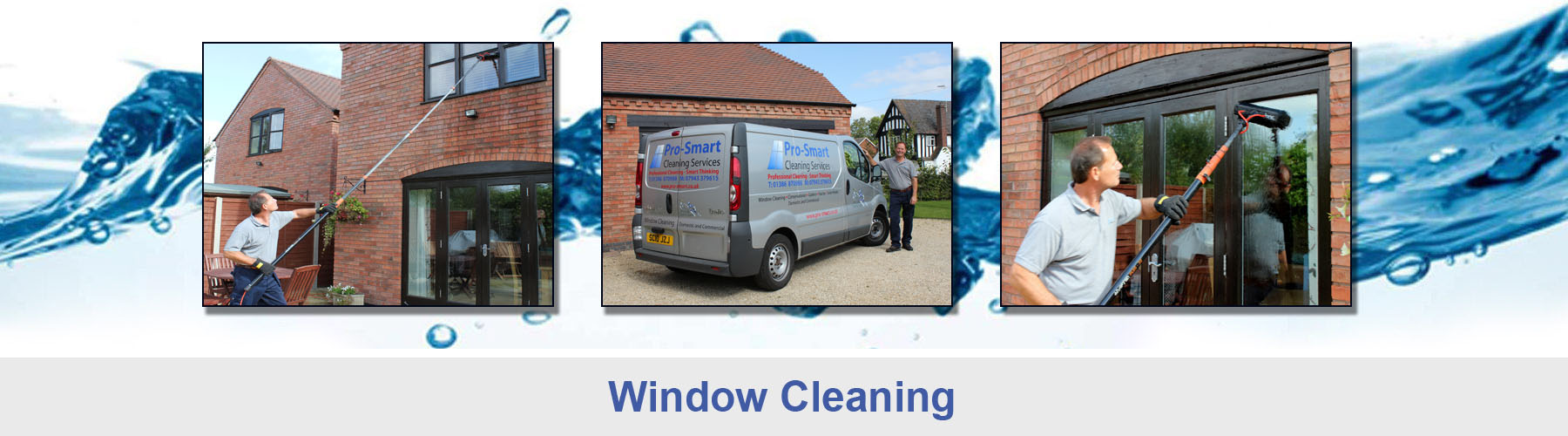 Window cleaning services in Worcestershire and Warwickshire